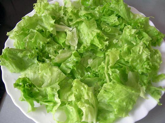 Польза и вред салата при заболеваниях